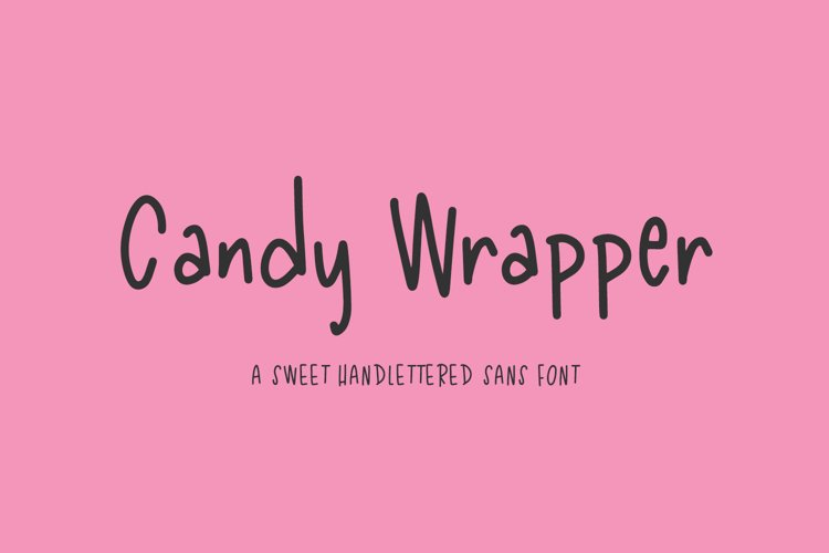 Candy Wrapper Sans example image 1