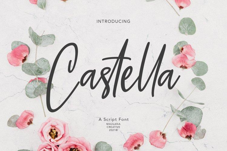 Castella Script Font example image 1