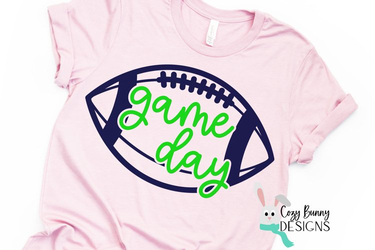 Game Day SVG - Football SVG example image 1