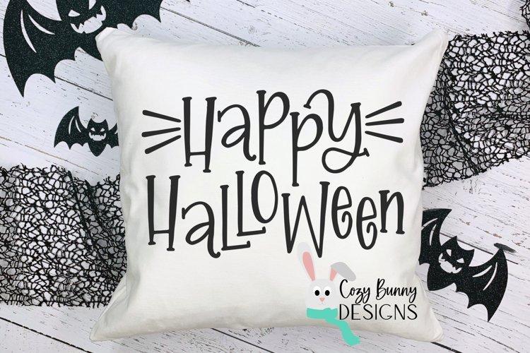 Happy Halloween SVG example image 1