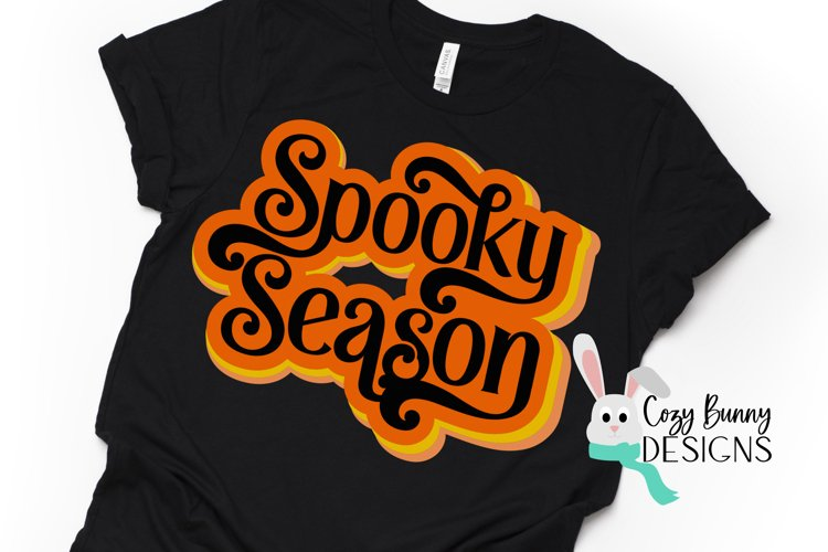 Spooky Season - Retro Halloween SVG example image 1