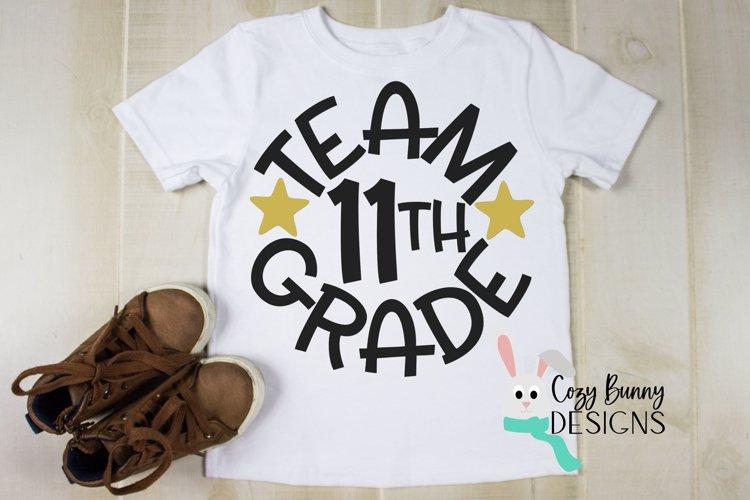 Team 11th Grade - School SVG example image 1