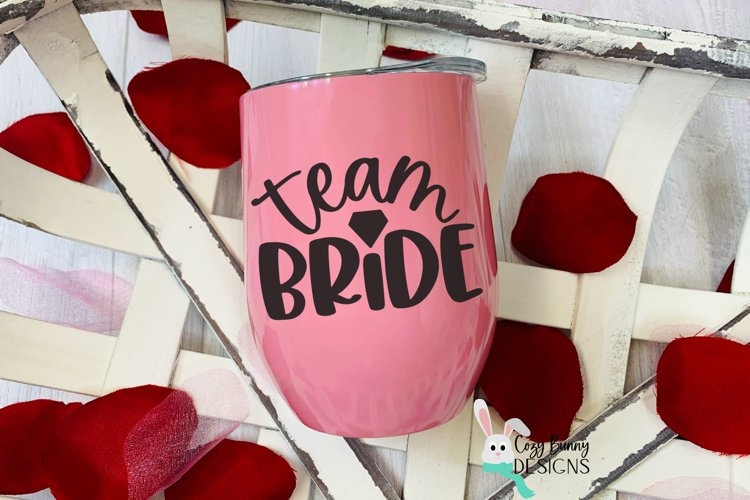 Team Bride SVG - Wedding SVG example image 1