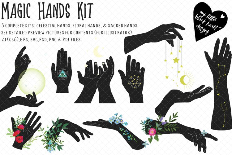 Magic Hands Bundle example image 1