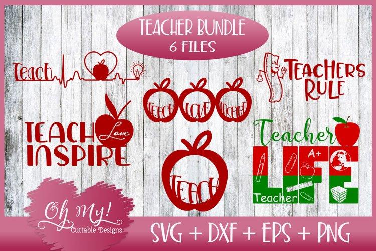 Teacher Bundle - SVG DXF EPS PNG