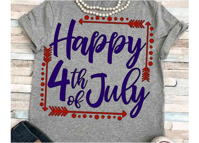 July svg SVG DXF JPEG Silhouette Cameo Cricut July svg iron on family svg Happy 4th of July svg example image 1