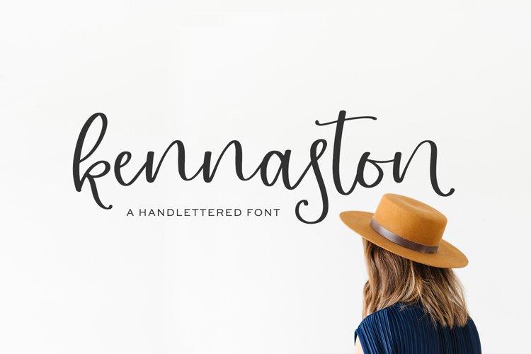 Kennaston Calligraphy Script