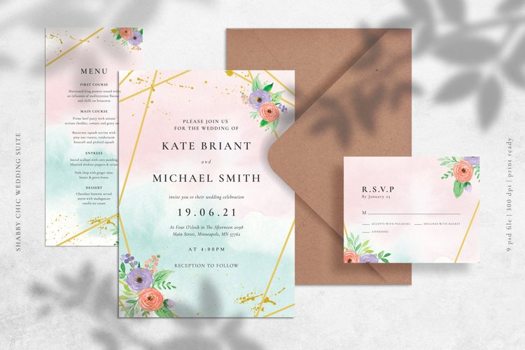 Shabby Chic Wedding Suite example image 1
