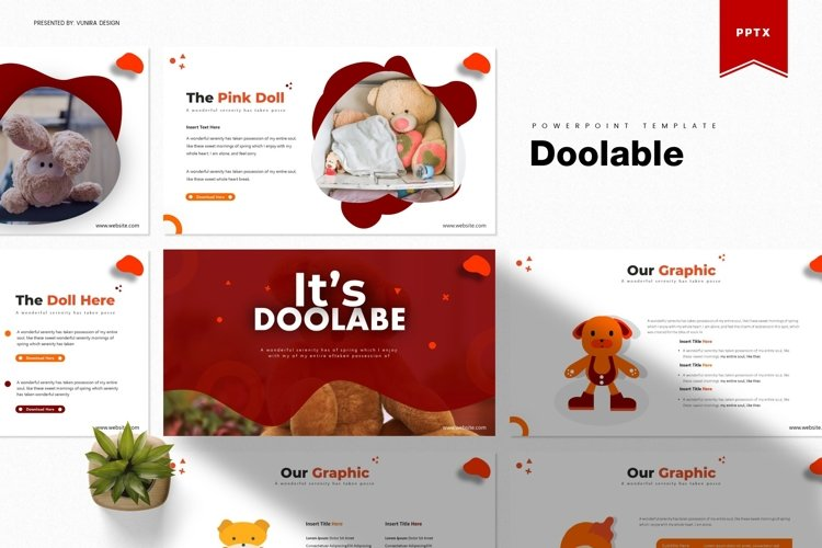 Doolable | Powerpoint, Keynote, Google Slides Template example image 1