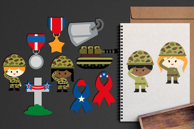 Memorial day graphic illustrations