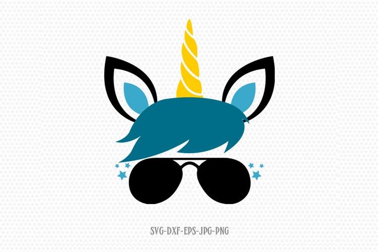 unicorn svg, unicorn eyelashes, boy unicorn svg example image 1