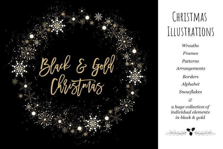 Black & Gold Christmas