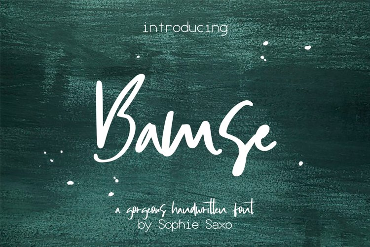 Bamse Font example image 1