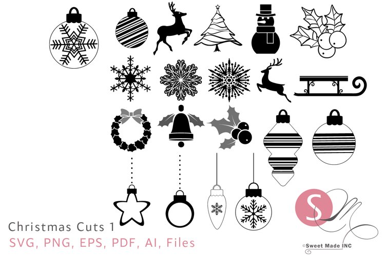 Christmas Cuts 1 example image 1