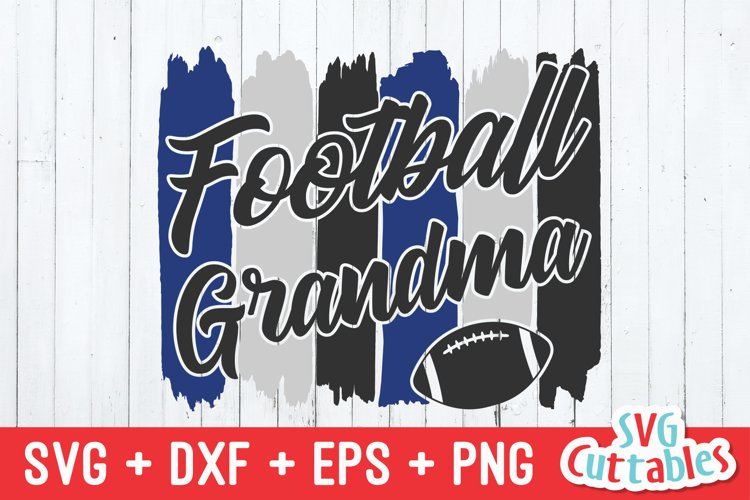 Football SVG | Football Grandma example image 1