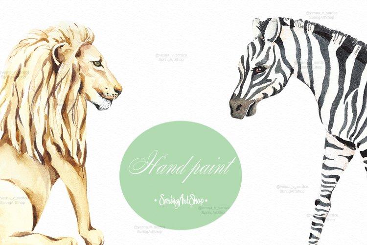 Savanna animal & Tropical clipart example 3