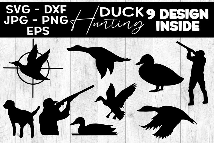 Duck Hunting SVG Duck Hunting Clipart