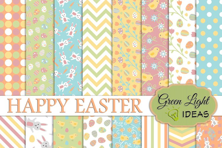 Easter Digital Papers example image 1