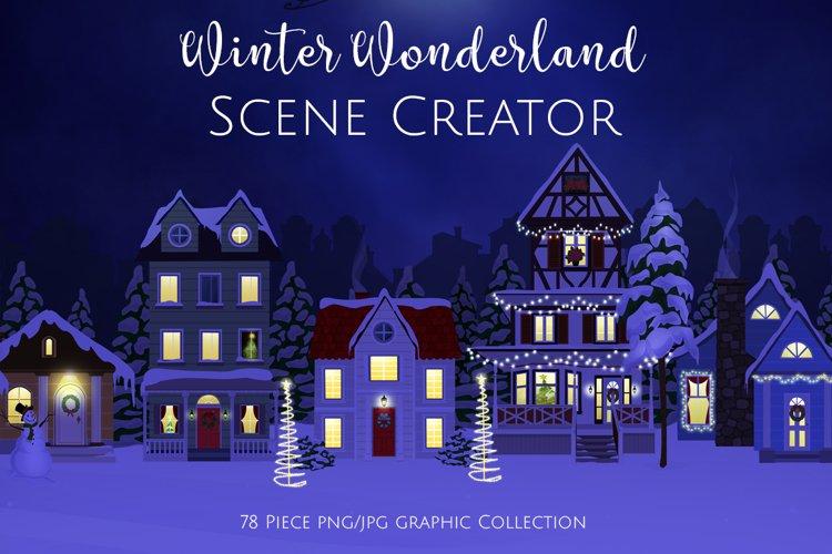 Winter Wonderland Scene Creator example image 1