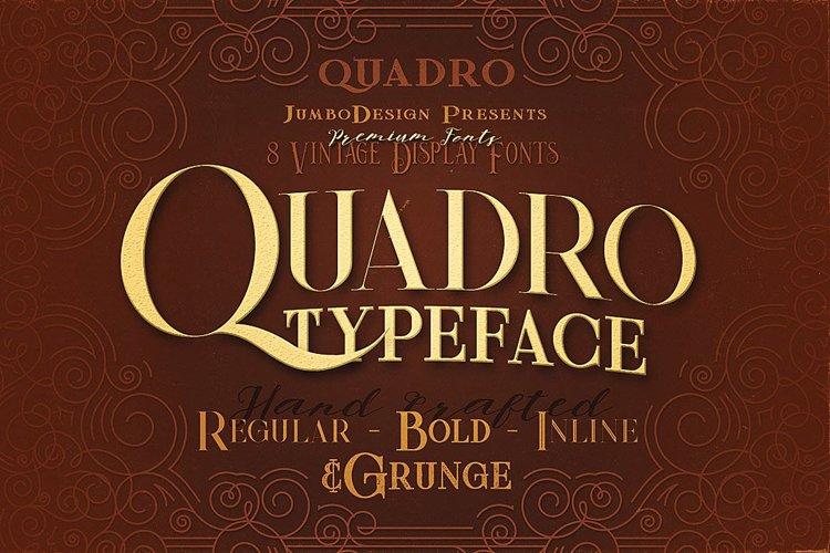 Quadro - Display Font example image 1