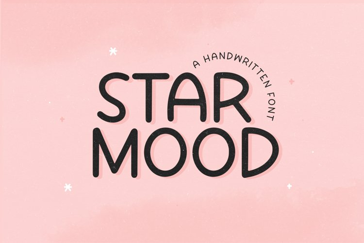 Star Mood - A Handwritten Font