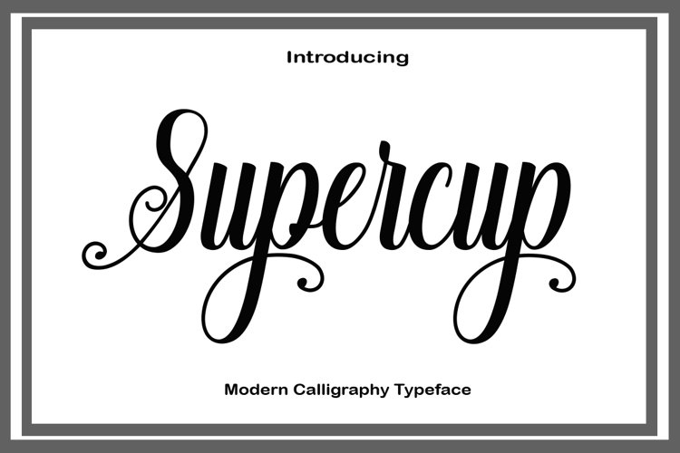 Supercup example image 1