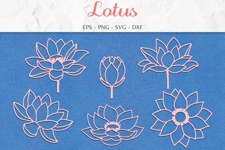 Lotus SVG, Mothers Day SVG, Flowers Svg, Yoga Svg