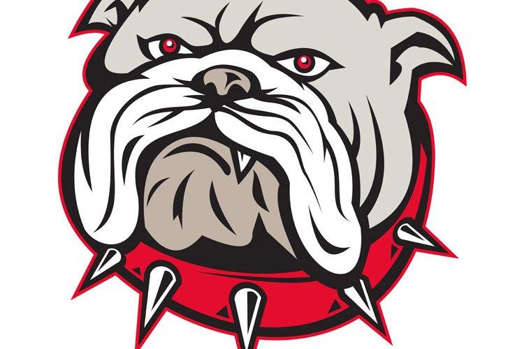 bulldog head front example image 1