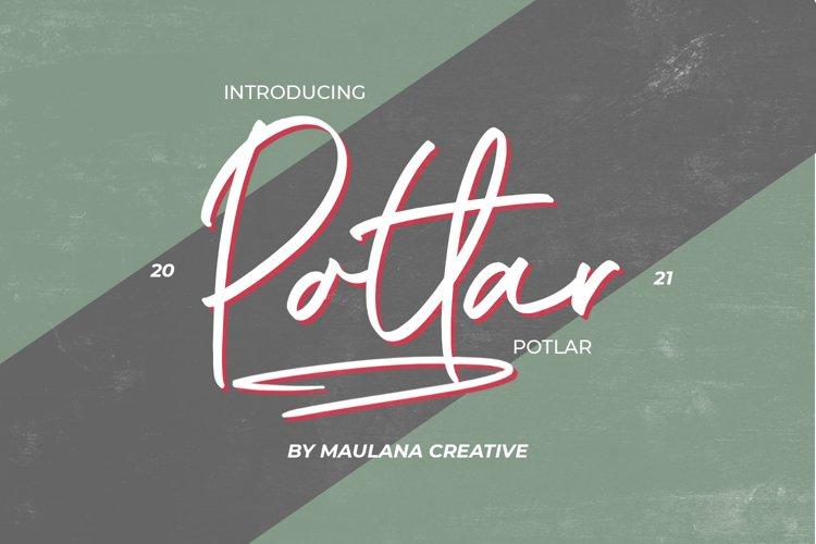 Potlar Signature Script Font example image 1