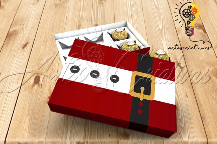 Christmas Candy Box File example image 1