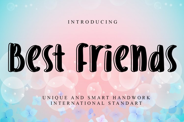 Best friends example image 1