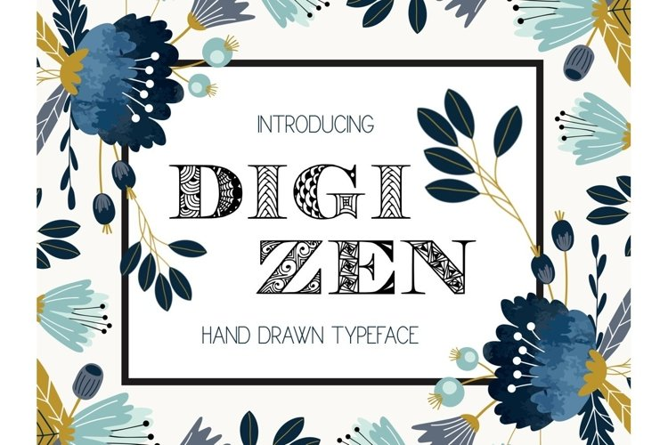 Digizen Font example image 1