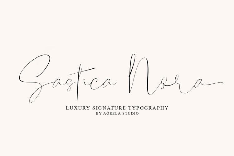 Sastica Nora example image 1