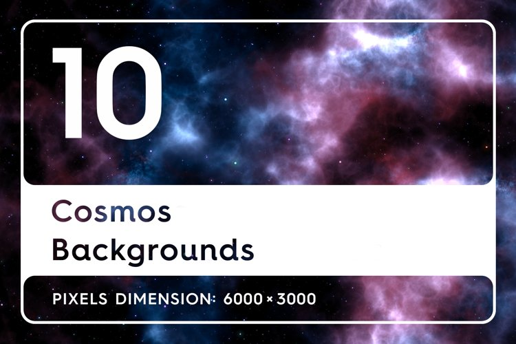 10 Cosmos Backgrounds example image 1
