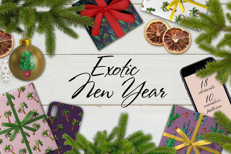 Exotic New Year example image 1