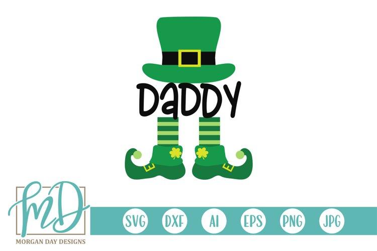 Daddy Leprechaun - St Patrick's Day SVG example image 1