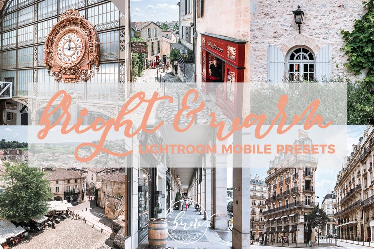 Bright & Warm Mobile Lightroom Presets example image 1