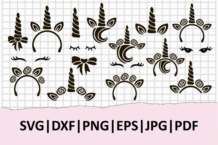 Unicorn clipart collection for Unicorn logo, Unicorn party. example image 1