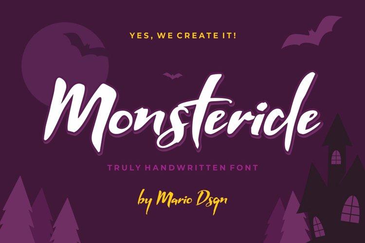 Monsteride example image 1