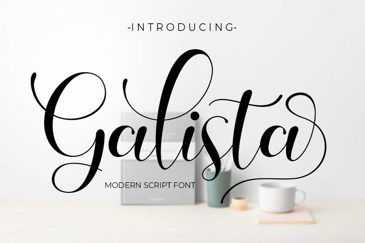 Galista - Modern Script example image 1
