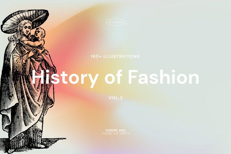 History of Fashion - Vol3