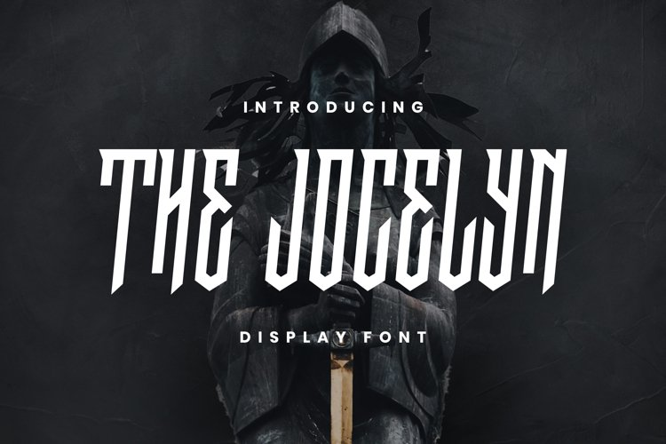 The Jocelyn Font example image 1