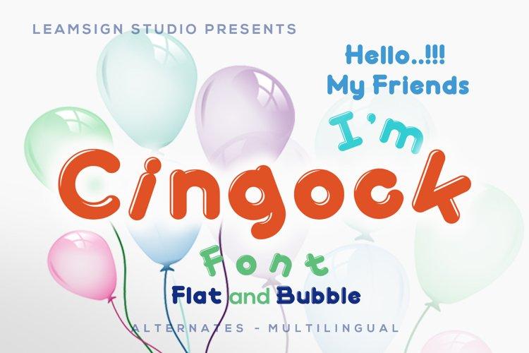 Cingock Font example image 1