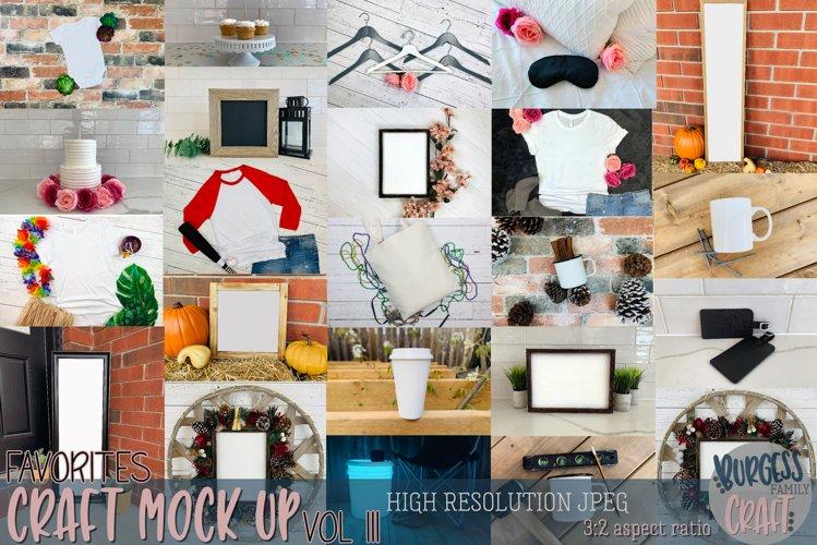 Favorites Vol. III Craft mock up Bundle | PSD & JPEG
