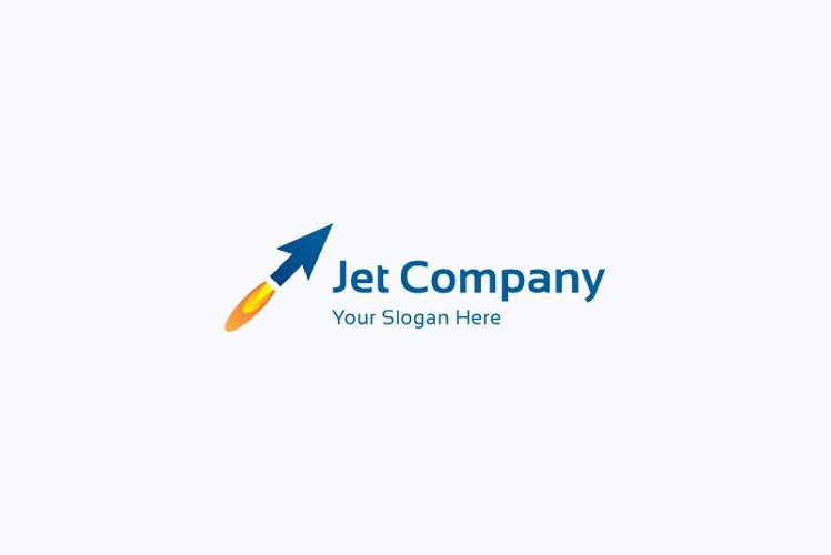 Jet arrow logo example image 1