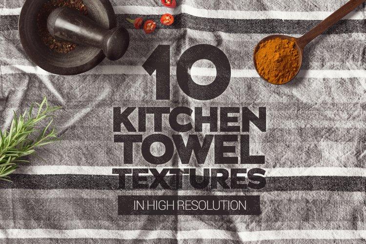 Kitchen Towel Textures x10 example image 1