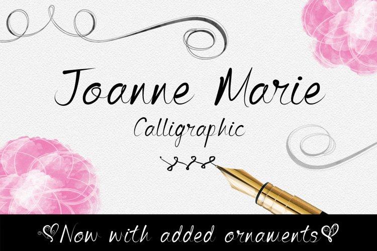 Joanne Marie Calligraphic example image 1