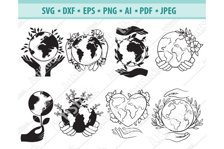 Earth svg, Earth day png, Earth clipart, Planet Eps, Dxf