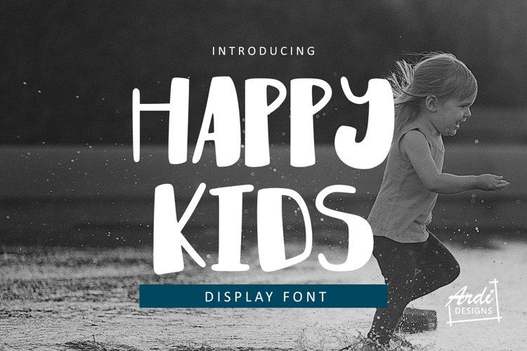 Happy Kids Font example image 1