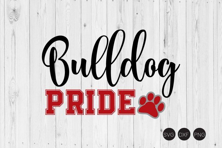 Bulldog Pride SVG